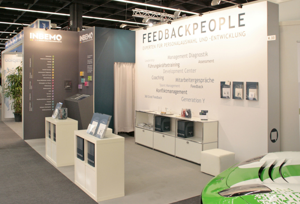 FEEDBACKPEOPLE Messestand 2014